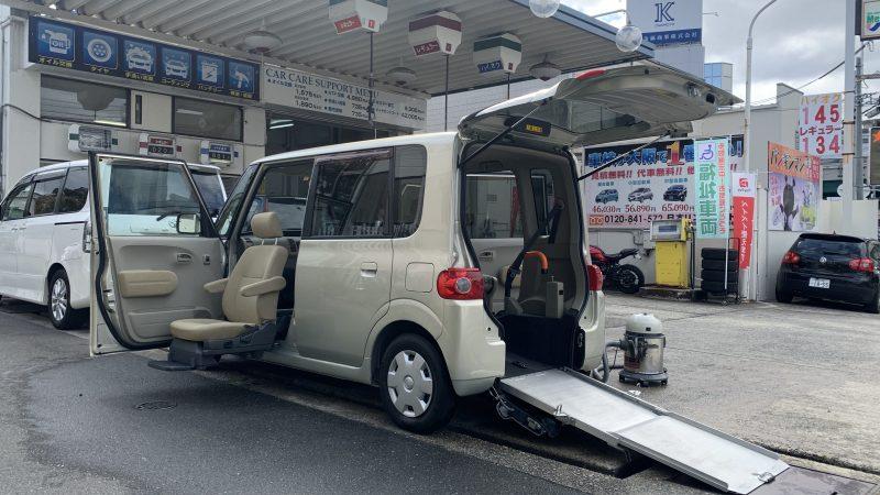 福祉車両 ダイハツ タント スローパー 車椅子1台 希少な助手席回転シート