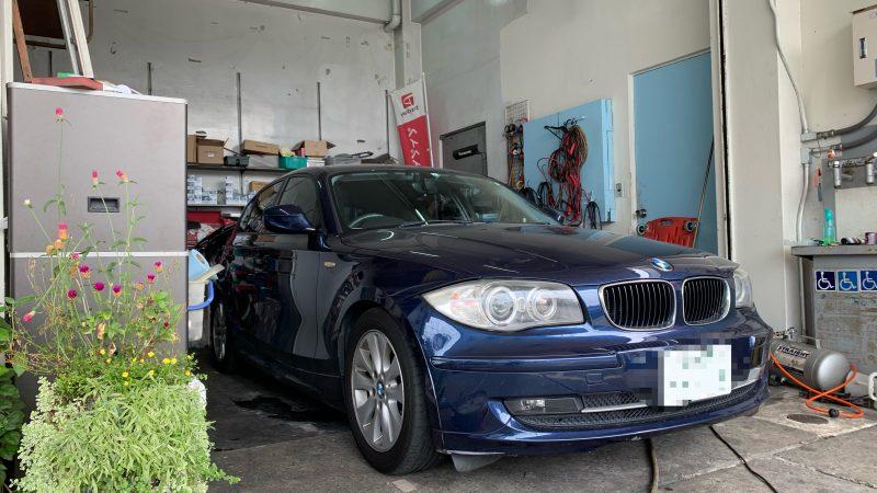 BMW 116i ドライブレコーダーお取付け