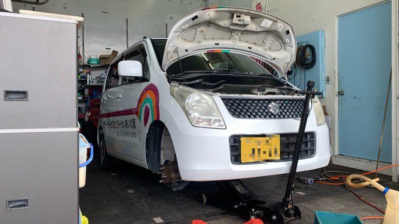福祉車両 スズキ ワゴンR オイル交換・タイヤ交換