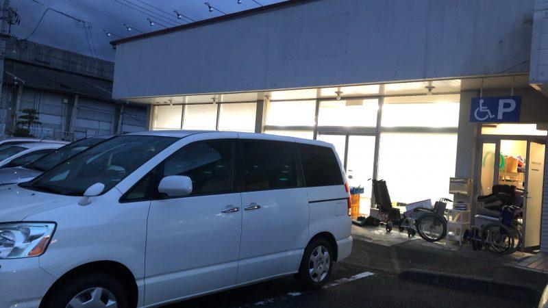 岡山県まで福祉車両の納車に行って来ました。