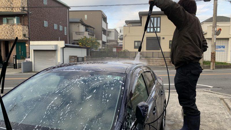 手洗い洗車・室内清掃もご依頼下さい。豊中市プレミアム付商品券もご利用頂けます。