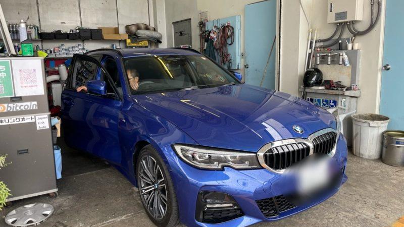 BMW 320ⅾ 前後ドライブレコーダー 持込み取付け